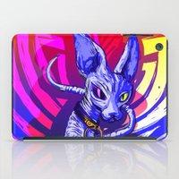 sphynx iPad Cases featuring Sphynx!  by Devyn Park
