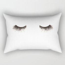 Dramatic dreaming Rectangular Pillow