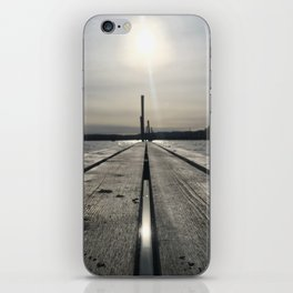 Walk on water iPhone Skin
