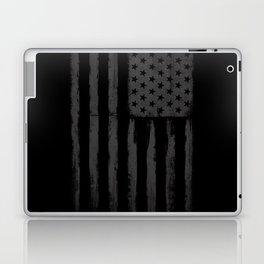 Grey American flag Laptop & iPad Skin