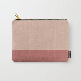 PEACH x VINTAGE ROSE II Carry-All Pouch