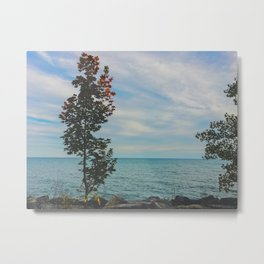 Vibes by the beach Metal Print