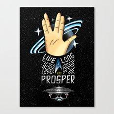 Trekkie Canvas Print