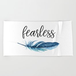 Fearless Beach Towel