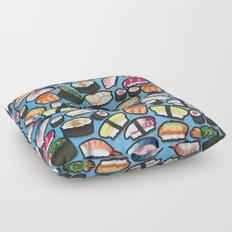 Sushi Blue Floor Pillow