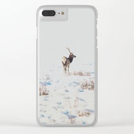 Winter Wanderer Clear iPhone Case