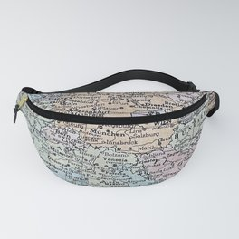 old map of Europe Fanny Pack