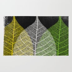 'Natural Dry Leaves' Rug