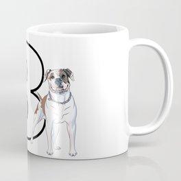 Type 3 Enneagram Dog American Bull Dog Coffee Mug