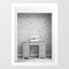 Sewing Studio Art Print