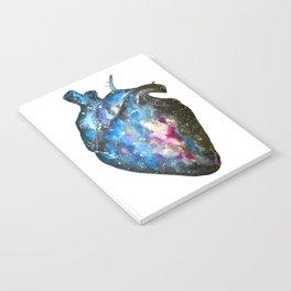 Galaxy anatomical heart Notebook