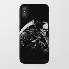 DEATH WILL HAVE HIS DAY iPhone X Slim Case