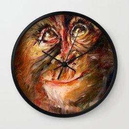Zodiac - Monkey Wall Clock