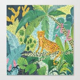 Jungle Leopard Leinwanddruck