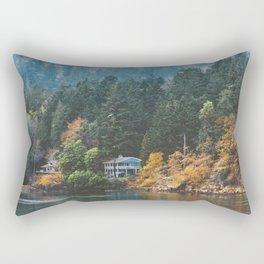 Mayne Island (Vancouver Island) Rectangular Pillow