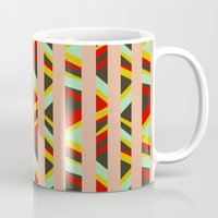 tribal Mugs featuring tribal by sylvie demers