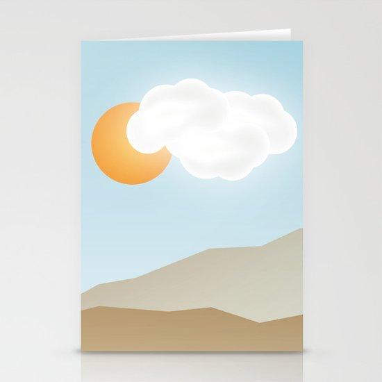 Beach Paradox Stationery Cards