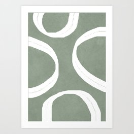 Abstract Lines I Art Print
