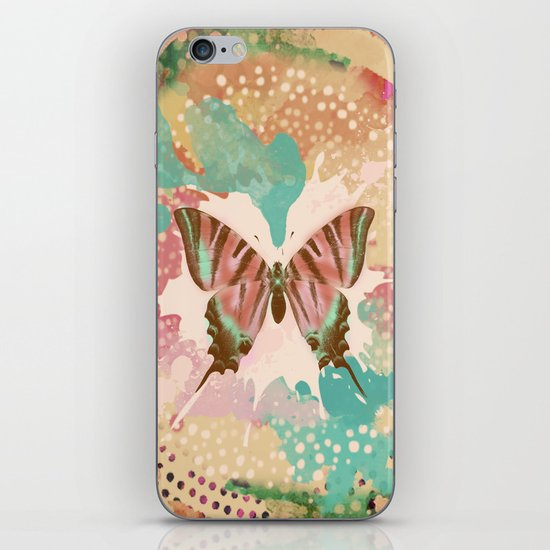 The Butterfly Experiment iPhone & iPod Skin