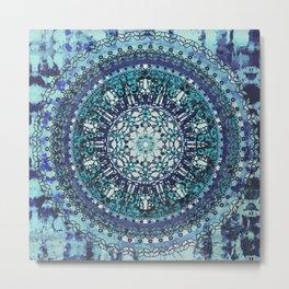Monterey Mandala Metal Print