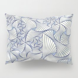 Reverie (in Ivory and Blue) Pillow Sham