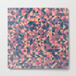 Triangles III Metal Print