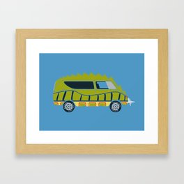 Death Race 2000 Alligator Van Framed Art Print