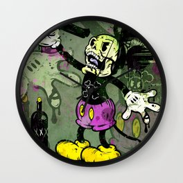 Mick Skele Wall Clock