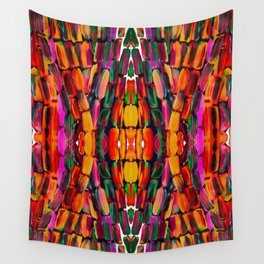 For the World Sugarcane - Alicia Jones - Pattern Wall Tapestry