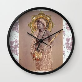 Woman from Bengal Wall Clock