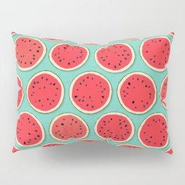 watermelon polka mint Pillow Sham