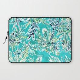 KAILUA CHILL Tropical Hawaiian Floral Laptop Sleeve