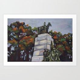 Gettysburg Battlefield Memorial Art Print