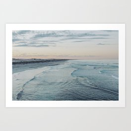 Dawn at Talia Cave Art Print