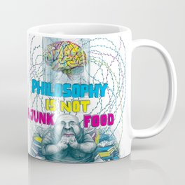 Philosophy is not a junk food Coffee Mug