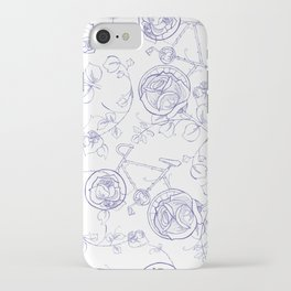 BIKEPARTY TOILE CLASSIC iPhone Case