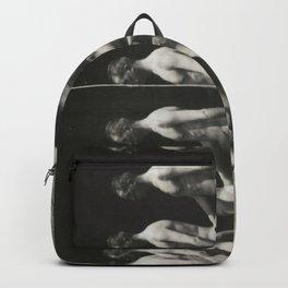Man Walking Backpack