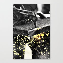 All in a Day's Work Canvas Print