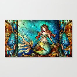 The Serene Siren Canvas Print