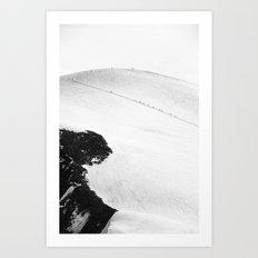 Ant Marching Art Print