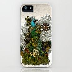Floral Peacock Slim Case iPhone SE