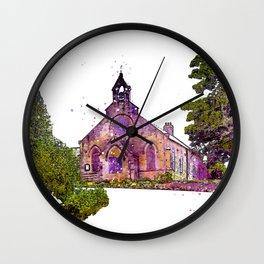 North Woodland Chapel Wall Clock