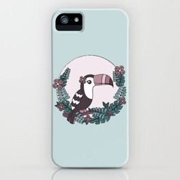 Toucan play this game iPhone Case