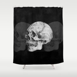 We Left As Skeletons  Shower Curtain