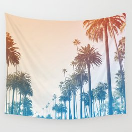 Summer in LA Wall Tapestry