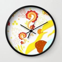 gajah olin Wall Clock