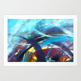 Tsunami II Art Print