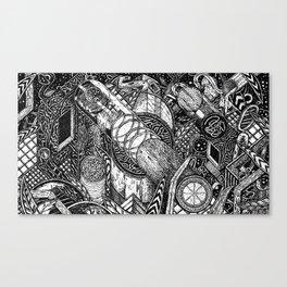Night Vision (Still Frame 2) Canvas Print