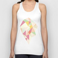 Facet I - vector Unisex Tank Top