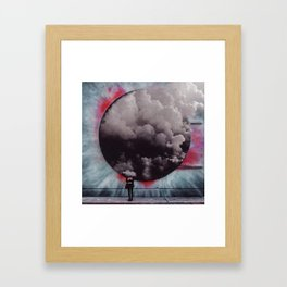 Clouded Judgment Framed Art Print